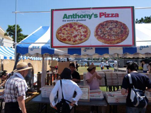 アンソニーピザの屋台