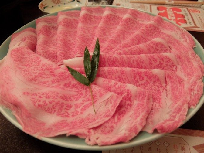 出された特上のお肉