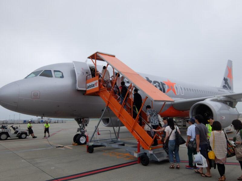 Jestarの飛行機