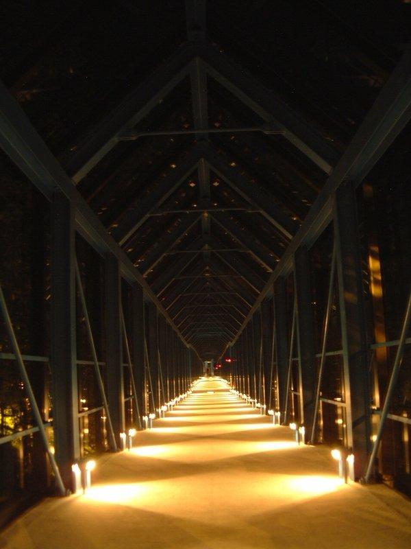 ヴィレッジまでの渡り廊下