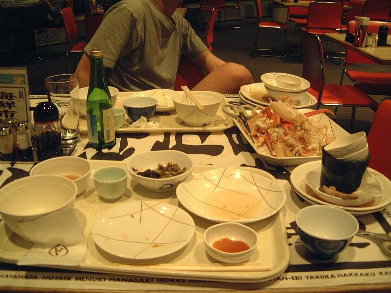 食べ過ぎました。