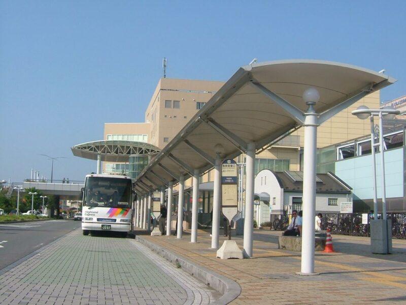 長野駅東口バス乗り場