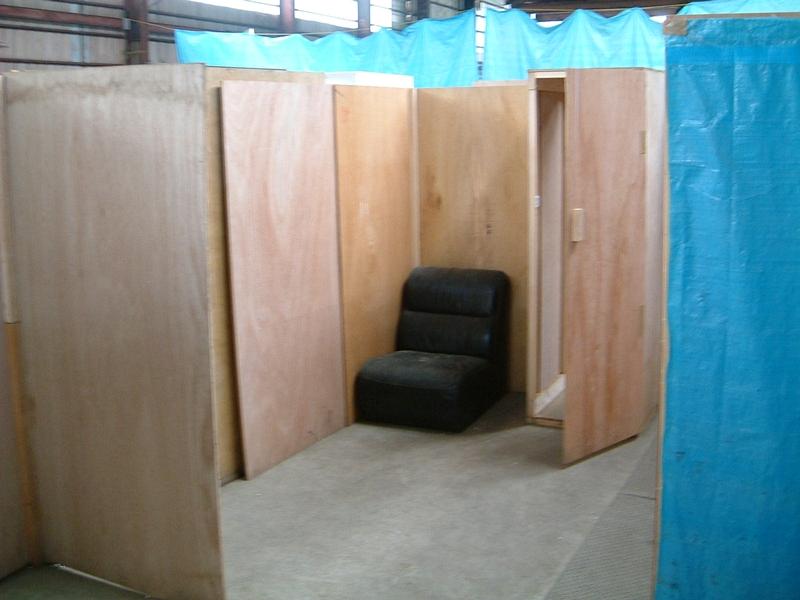 謎のソファ