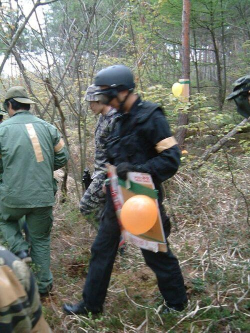 一人SWATのI隊員