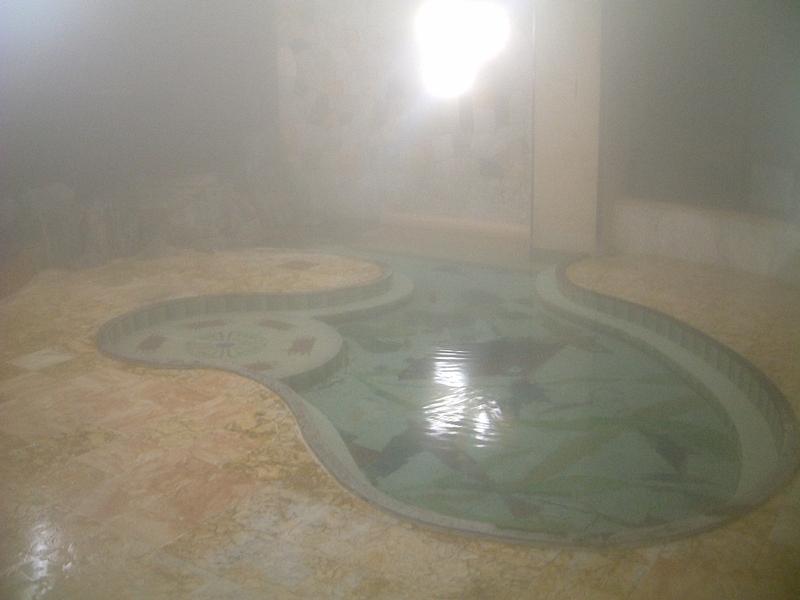 アトミック風呂内部