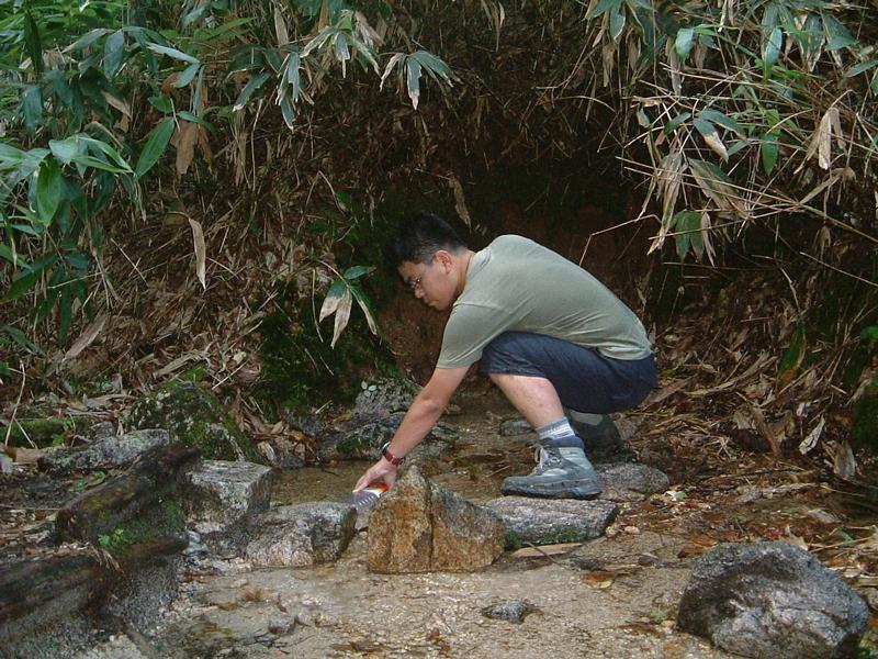 北アルプスの天然水