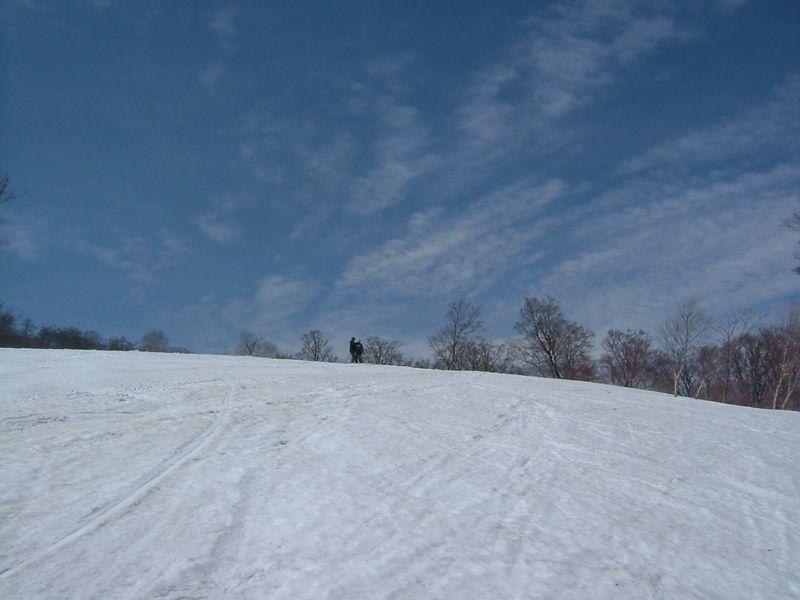 青空と、雪と1