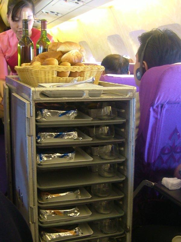 機内食カート