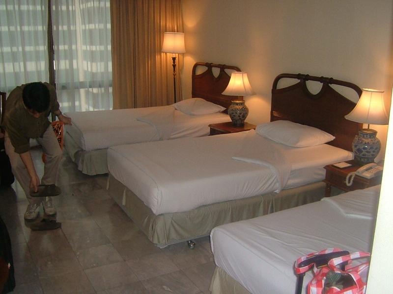インペリアルクイーンズパークホテルの部屋