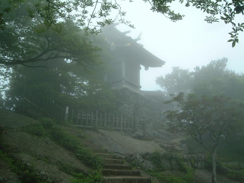 筑波山神社奥の院