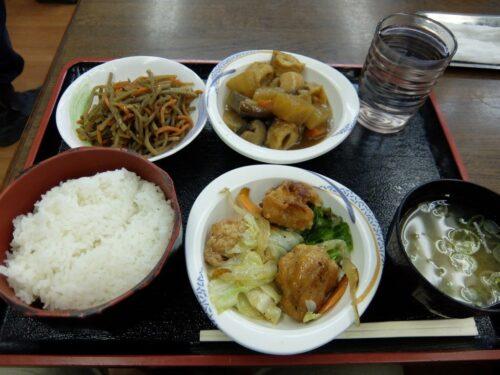 昼定食(小皿3品)