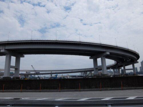 レインボーブリッジのループ橋