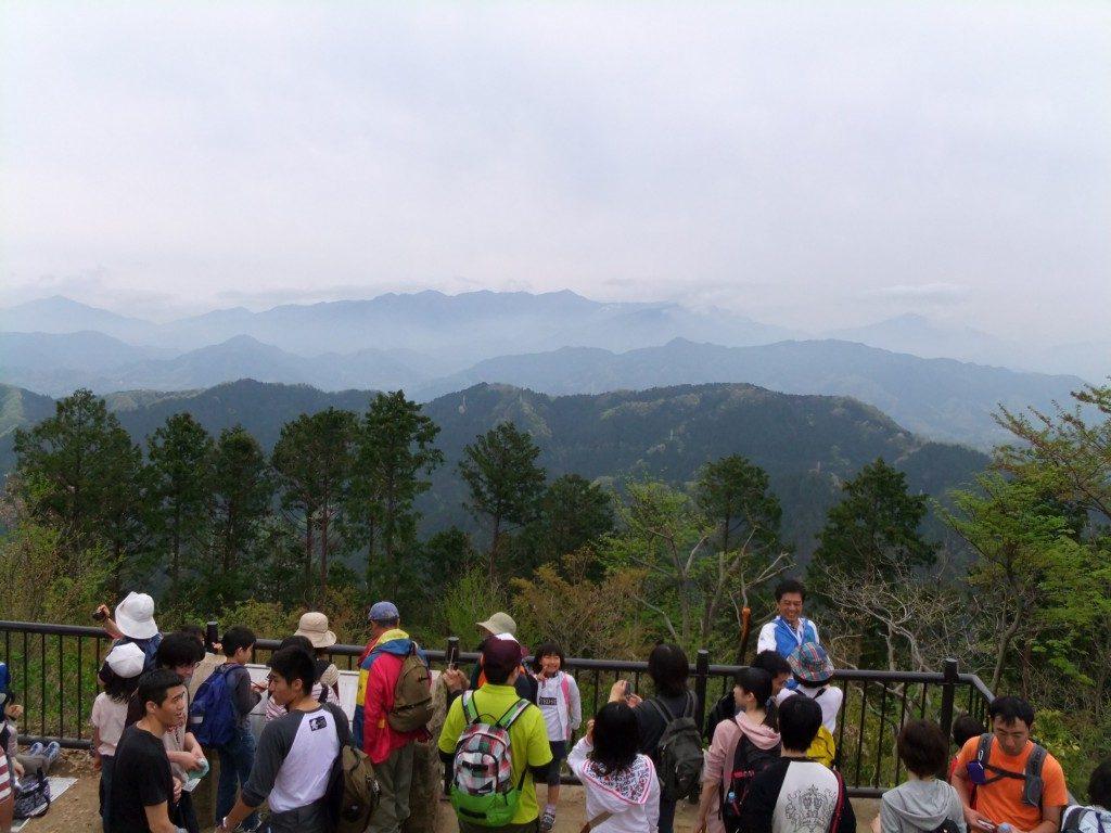 高尾山から小仏方面