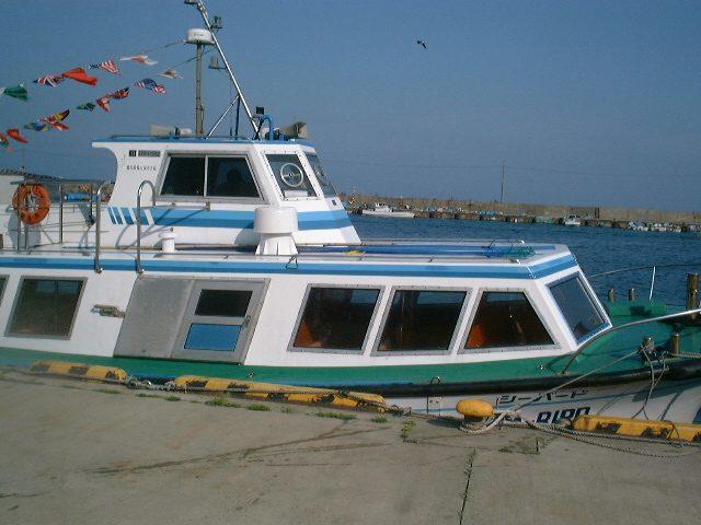 島一周の船