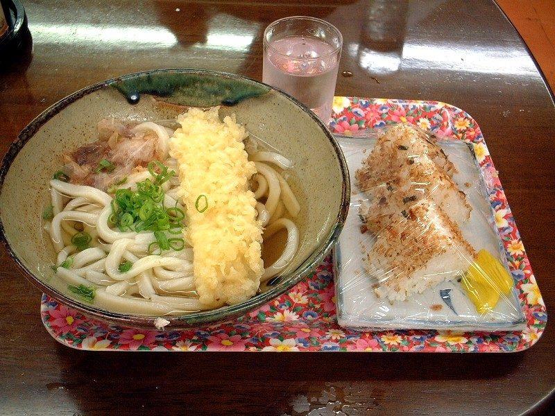 一日目昼食