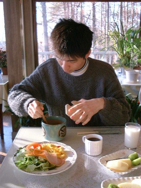 朝食のドレッシング