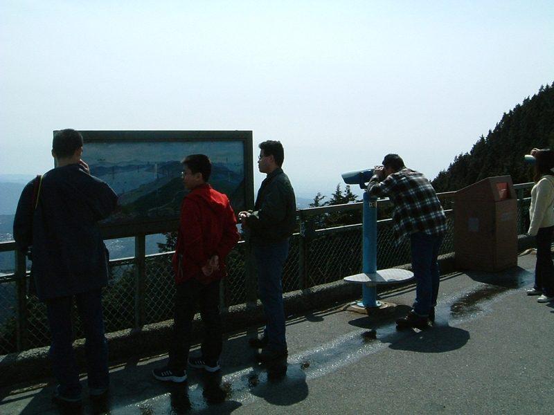 比叡山の展望台