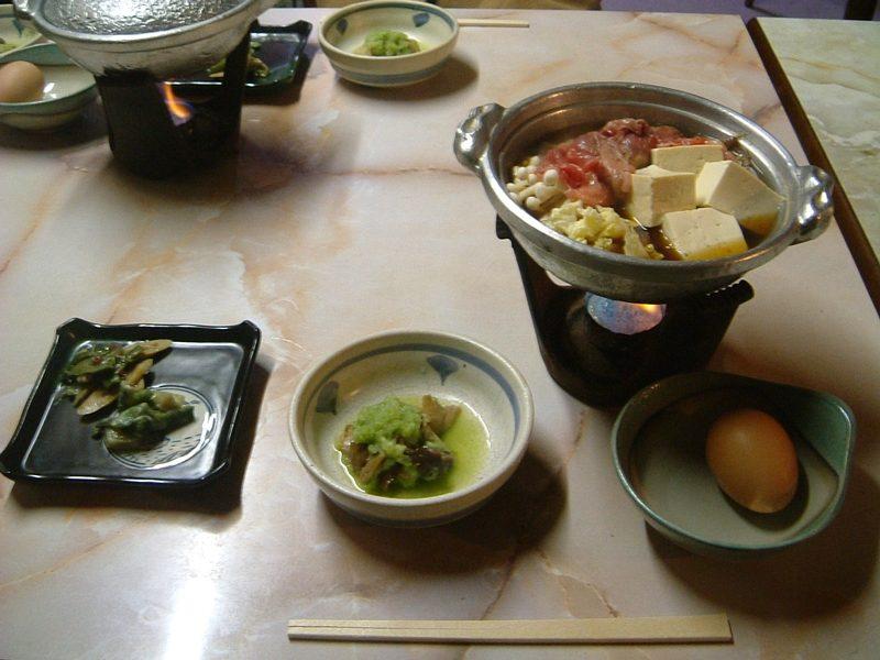 晴山の夕食1