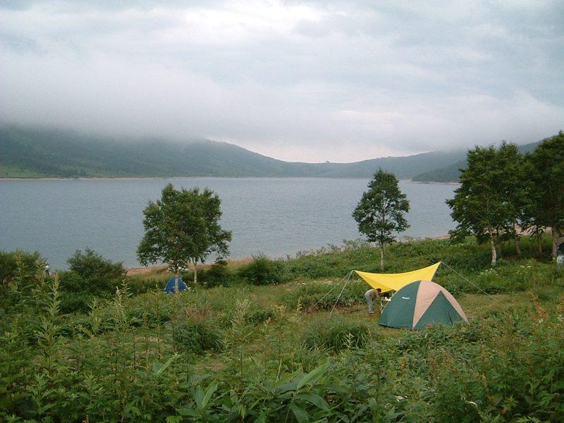 テントサイトからの景色