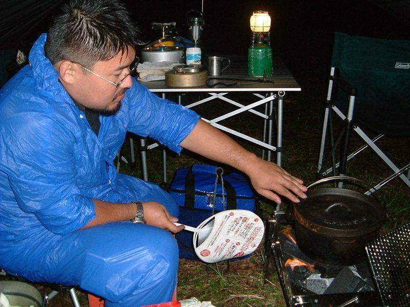 夕食の準備