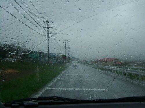雨はどんどん酷くなる