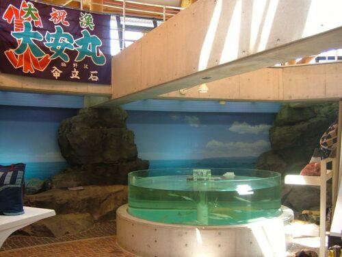 円柱形の水槽