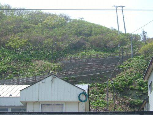 あれが階段国道