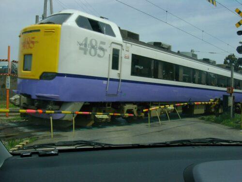 海峡線の列車