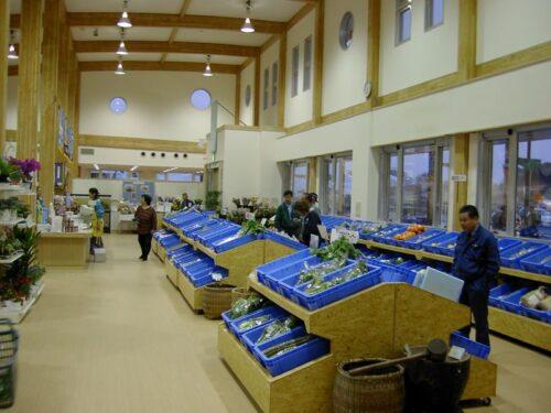 農産物が大量に売られていた