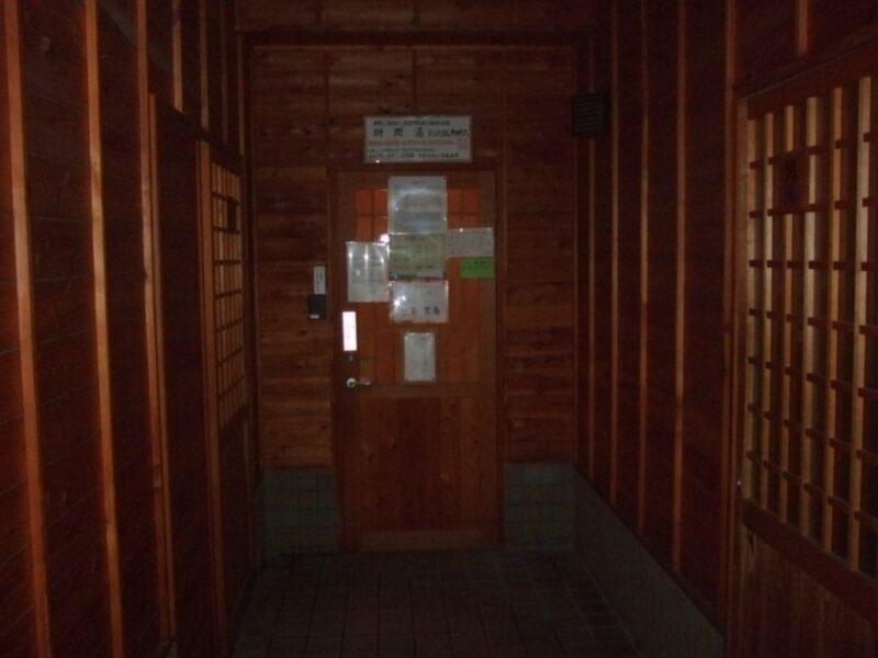 千代の湯の入口