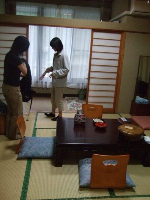 通された客室