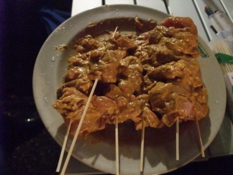 タンドリーチキン風串焼き