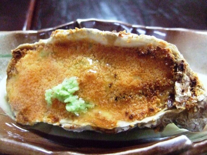 牡蠣伝法焼き
