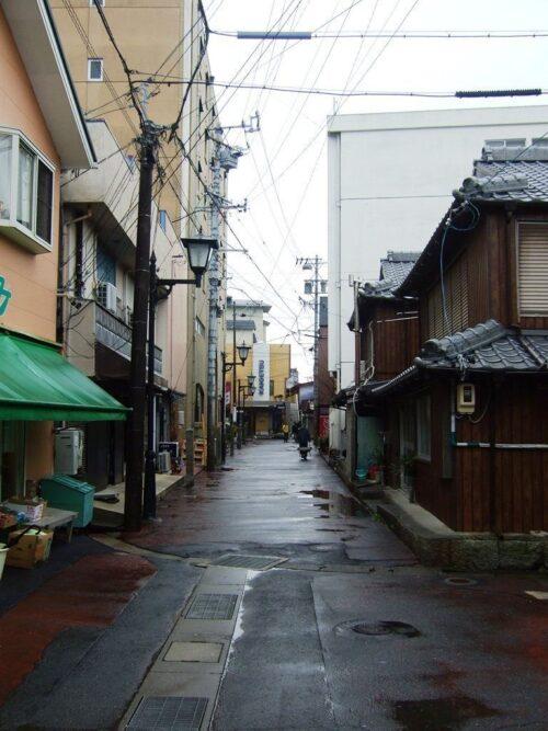 島のメインストリート