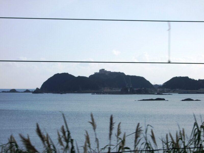 ホテル浦島がある半島