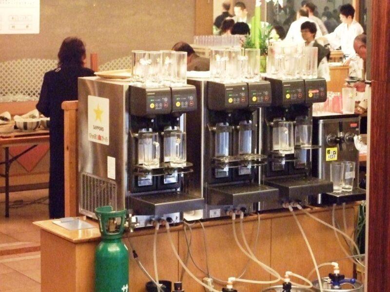 生ビール自動注ぎ器