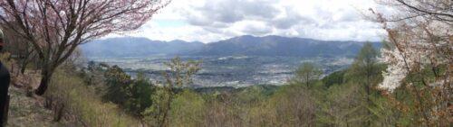 萱野高原からのパノラマ