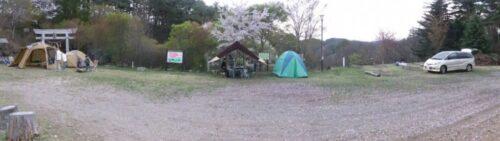 テントサイトパノラマ
