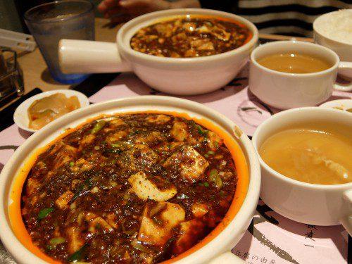 麻婆豆腐対比