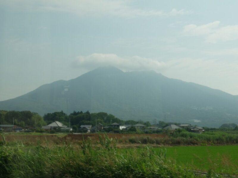 筑波山が見えてきた