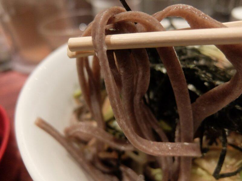 酢重正之の太麺
