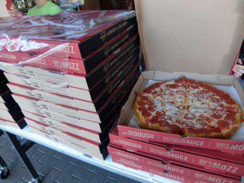 スバーロのピザ1