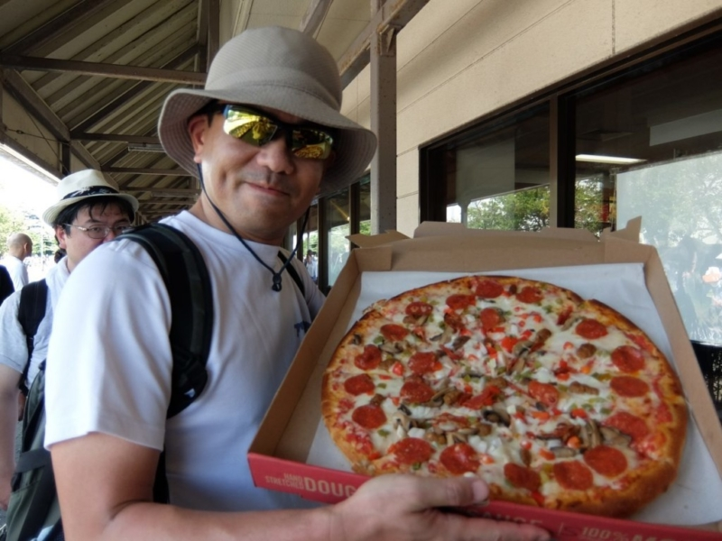 スバーロのピザ
