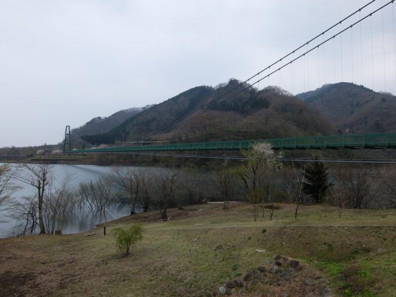 つり橋遠景