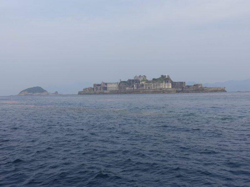 軍艦島遠景1