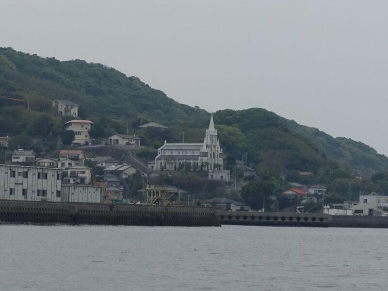 沖ノ島の教会
