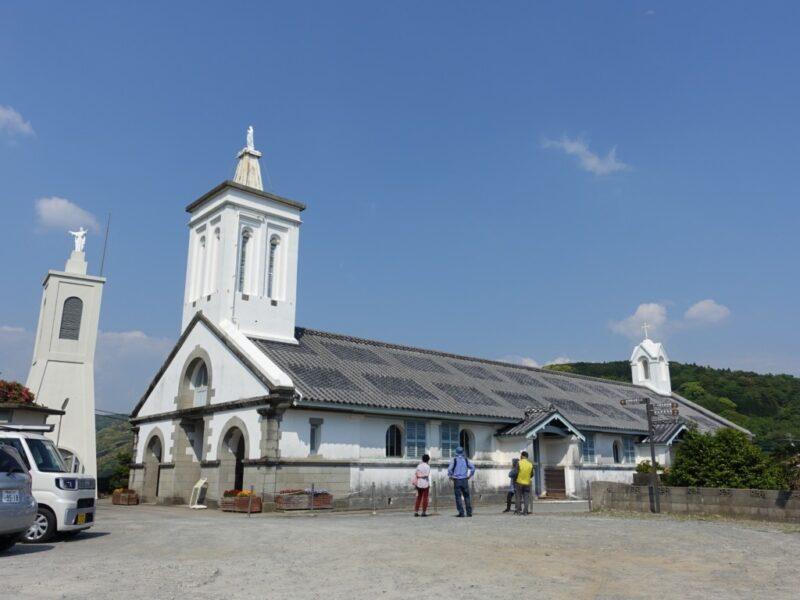 出津教会遠景
