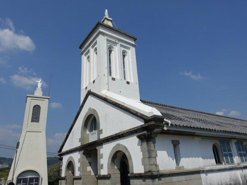 出津教会鐘楼
