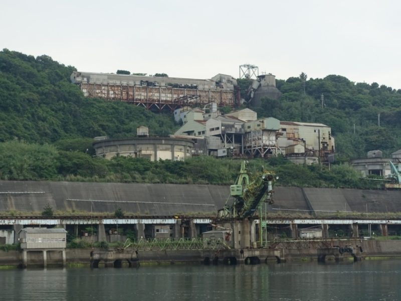 池島鉱山跡