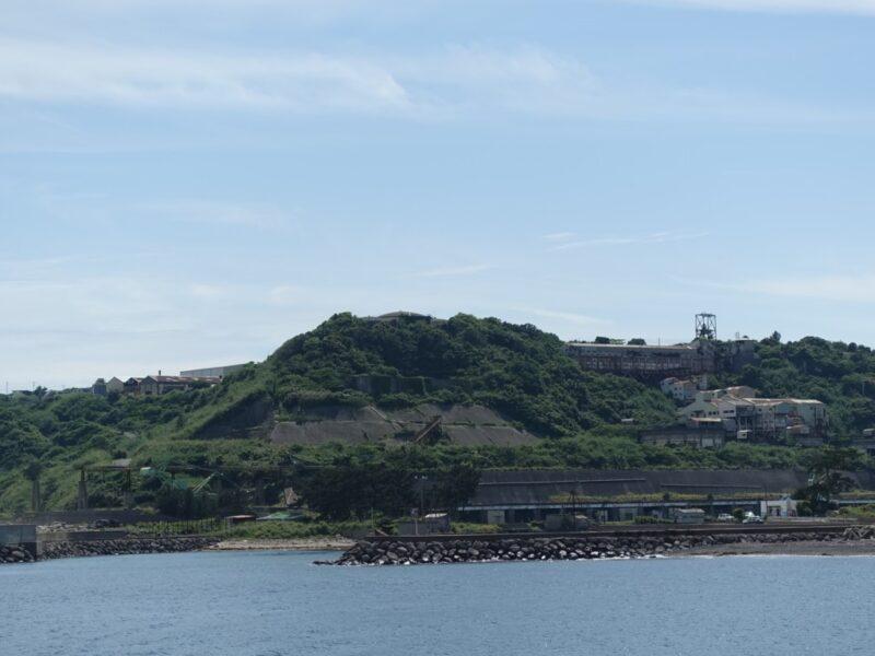 池島炭鉱遠景